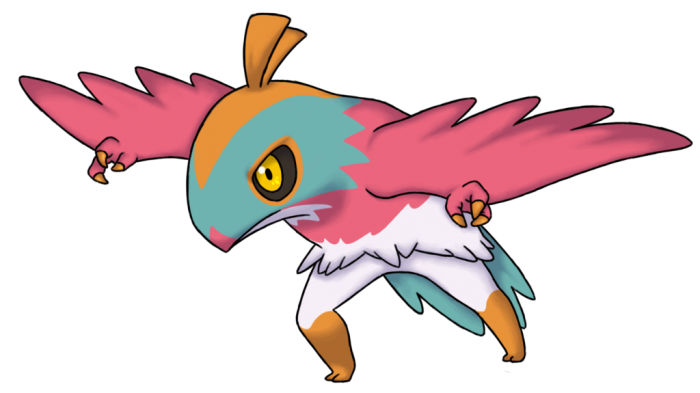 Don't mess with The Hawlucha!