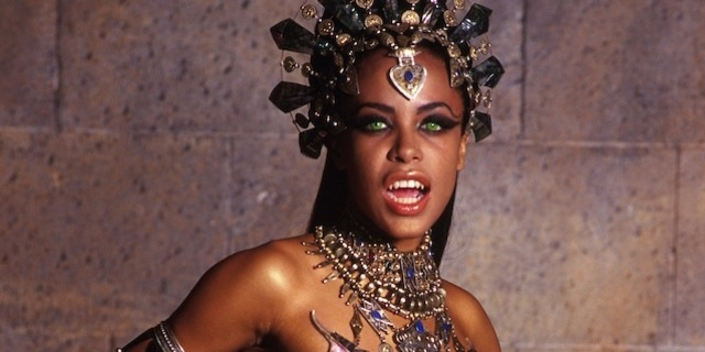 Aaliyah is Queen Akasha in The Queen of the Damned.