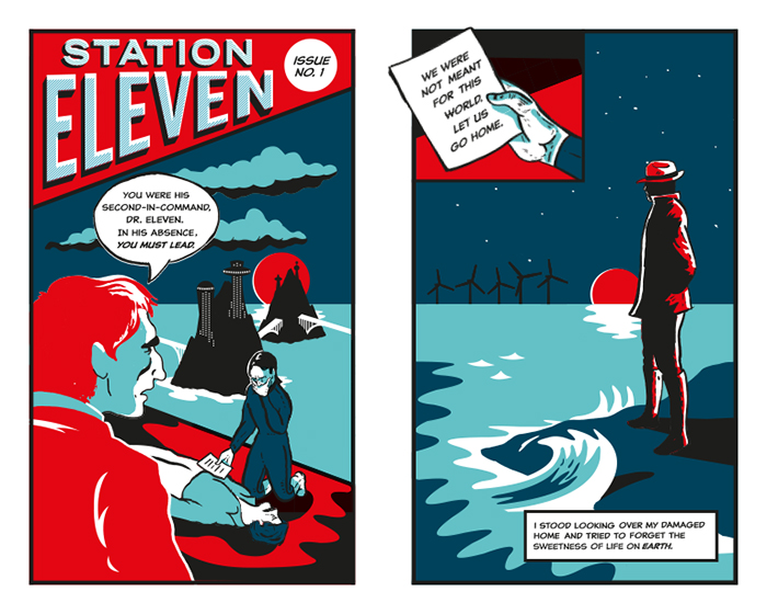 station eleven comic